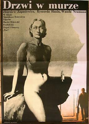 Orig. Polish Movie Poster ''The Door in the Wall' 'Drzwi w murze'