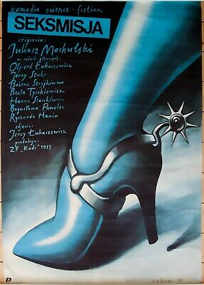 Orig. Polish Movie Poster 'Sexmission' 'Seksmisja'