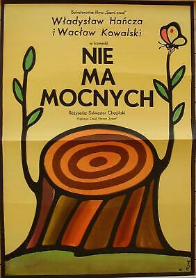 Orig. Polish Movie Poster 'Take It Easy' 'Nie ma mocnych'
