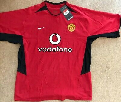 Manchester United Man Utd 2002 -!2004 Home Shirt/ Large (L)/ *BNWT*
