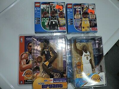 Kobe Bryant Lego and McFarlane figures