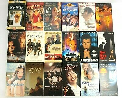 40 Various VHS Movie Lot