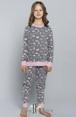 FIONA Pyjama Fillette en coton Italian Fashion