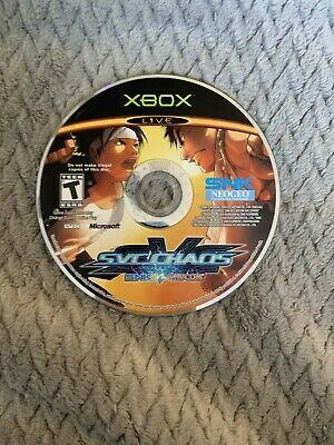 SNK vs. Capcom: SVC Chaos (Microsoft Xbox, 2004) disc only tested works great