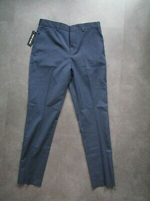 childs boys boy brand new with tags navy suit trousers river island age 11 years