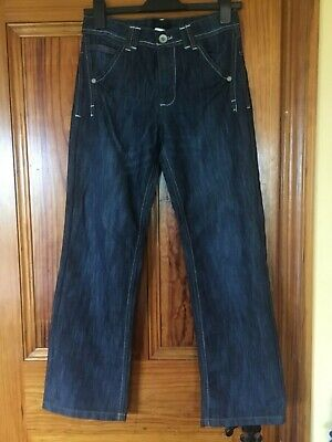 "Dunnes Boys Navy Blue Jeans Age 13 / 27"" Waist in Great Condition"