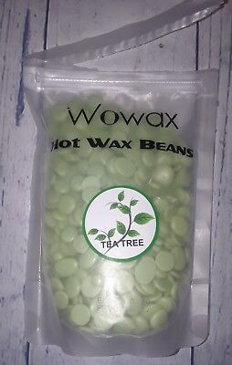 Wowax Hot Wax Beans - Tea Tree