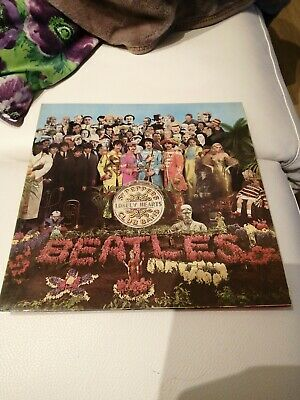 The Beatles Sgt Pepper's lonely hearts club band, vinyl LP, insert 1967 pcs 7027