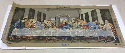 The Last Supper Leonardo da Vinci Royal Paris Tapestry Embroidery Anchor DMC