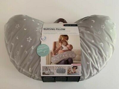 BEBE AU LAIT Maternity Nursing Feeding Pillow. Baby, Pregnancy C-Section Support