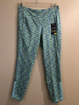 NWT Danskin Girls Multicolor Fitted Leggings Size L / 10 - 12