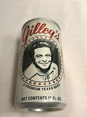 Vintage Gilley's Premium Texas Beer 12 Oz Aluminum Can
