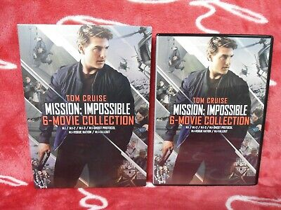 Mission Impossible 6 Movie Collection (DVD,2018)