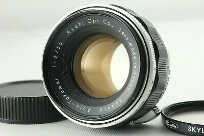 *EXC+++++* Pentax Auto-Takumar 55mm f/2 Early Type Asahi Opt M42 from JAPAN #183