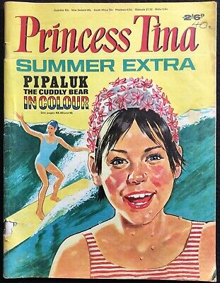 PRINCESS TINA SUMMER EXTRA - Barbie, Jane Bond, Milly, 96 Pages,GB, VG+, Undated