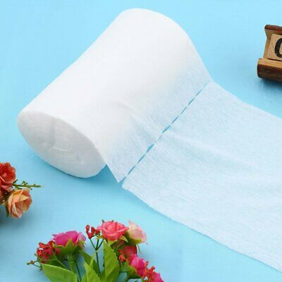Baby Flushable Biodegradable Cloth Nappy Diaper Bamboo Liners 100 Sheet/Roll Q