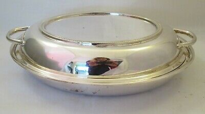 A Vintage Silver Plated Serving Dish / Tureen with Lid