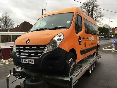 2012 Renault Master Mini Bus Lwb. 15 Seater - Spares Or Repair