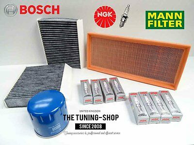 Oil,Air,Pollen Filter /& Plugs Service Kit 06-12 Note 1.4