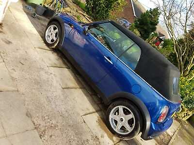 Mini cooper 1.6 petrol convertable