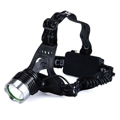 Geocaching Kopflampe HEAD 2 - CREE T6 LED Stirnlampe, Lampe