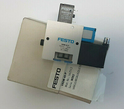 Festo VADM-45-P 162512 Vakuumsaugdüse - New/Boxed Worldwide Shipping Eu