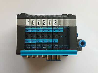 Festo CPV10-GE-MP-8 18255 J 3xN 2xC M Valve Terminal - Top - Worldwide Shipping,