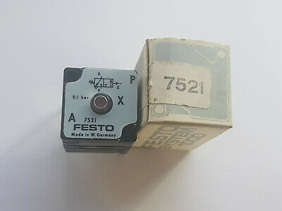 Festo Vl- 7521 Measuring Amplifier Aplifier- New/Boxed Worldwide Shipping, Eu