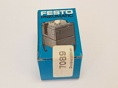 Festo VL-3-0,9N 7089 Measuring Amplifier Aplifier- New / Ovp Worldwide Shipping,