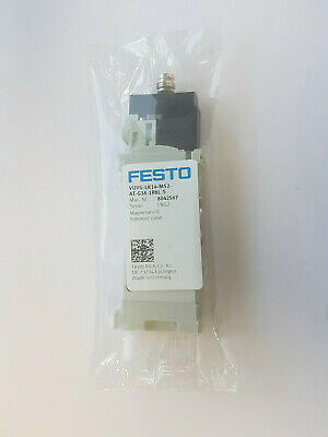 Festo VUVG-LK14-M52-AT-G18-1R8L-S 8042567 M 5/2 Way Solenoid Valve New/Boxed