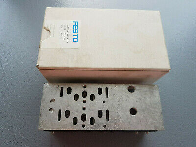 Festo VABV-S4-1S-G14-2T2 539220 Verkettungsplatte - New Boxed Worldwide Shipping