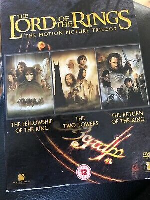 The Lord Of The Rings Trilogy (DVD Box Set)