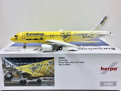Herpa Wings 1:500  Airbus A320  Eurowings  BvB  D-AIZR  529600 Modellairport500