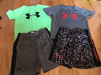 Under Armour Boys Lot of 2 Sets Size 4
