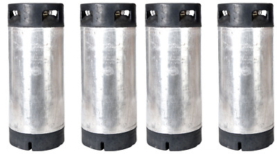 4 Pack of 5 Gallon Pin Lock Kegs Reconditioned - Homebrew Beer - Free Shipping!