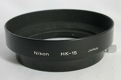 Excellent Nikon Metal Lens Hood HK-15 for Ai-S Zoom Nikkor 35-200mm f3.5-4.5
