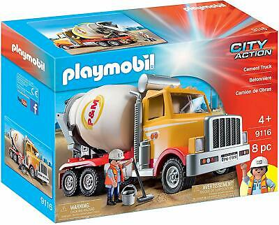Playmobil 9116 City Action Cement Truck
