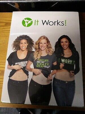 It Works Business Starter Kit Defining Gel Ultimate Body Applicator Wraps (NEW)