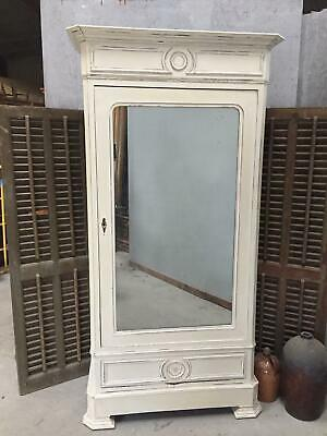 Antique French Armoire Shabby Chic Style
