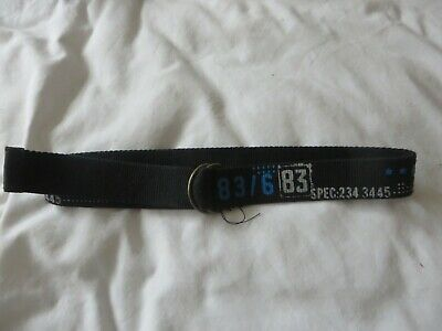 boys boy belt  age 10 years black & numbers on canvas