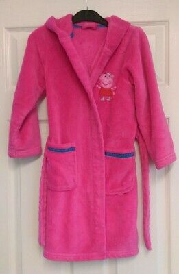 M&S Peppa Pig Dressing Gown 6-7 Yrs
