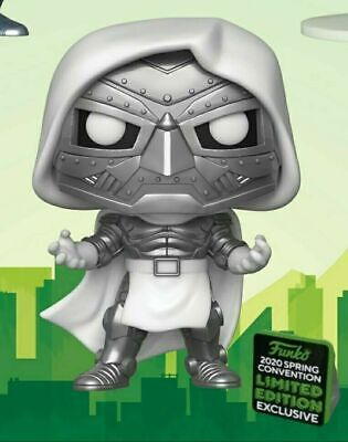 Funko Pop! Marvel: DR. DOOM 2020 ECCC Shared Exclusive PREORDER+Protector!