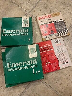 "Lot of 40 Used  7"" Reel to Reel tapes - Variety of brands - Good Condition"