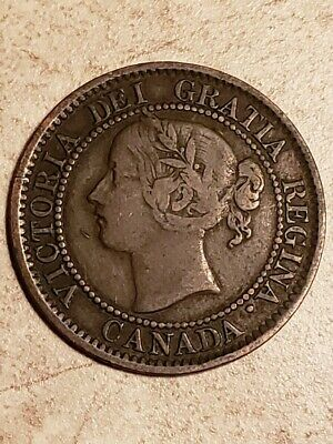 Canada: 1859 One Large Cent - Scarce  Better Date