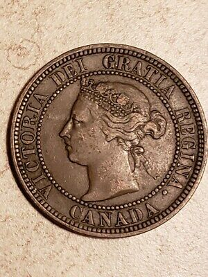 Canada: 1888 One Large Cent - Scarce  Better Date