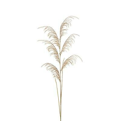 Artificial Pampas Plume Grass Spray - Natural (Style 4)