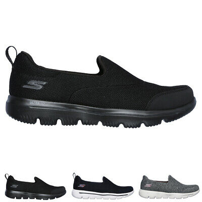 Ladies Skechers Go Walk Evolution Ultra Rapids Athletic Gym Trainers All Sizes