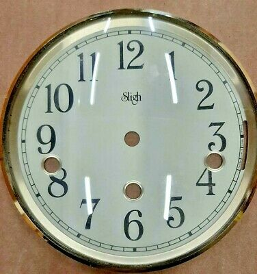 Sligh mantel clock Dial bezel combination for Hermle 1050 movement 150 mm,
