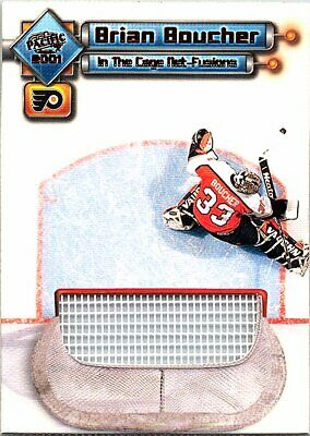 2000-01 Pacific In the Cage Net-Fusions #9 Brian Boucher