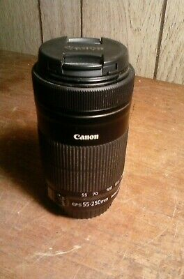 CANON EFS 55-250 mm F/1.4-5.6 IMAGE STABILIZER 1S MACRO ZOOM LENS
